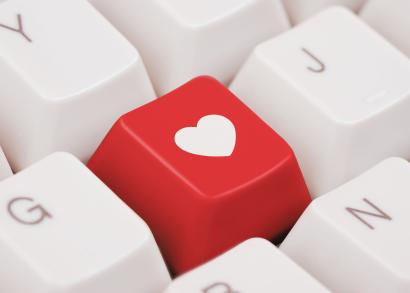 heart key