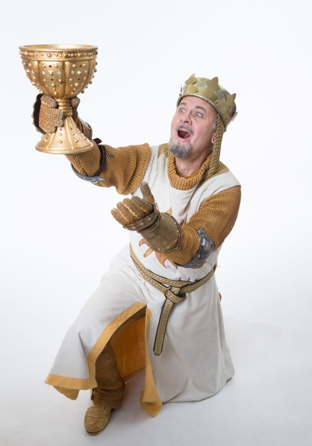 Allen Fitzpatrick as King Arthur