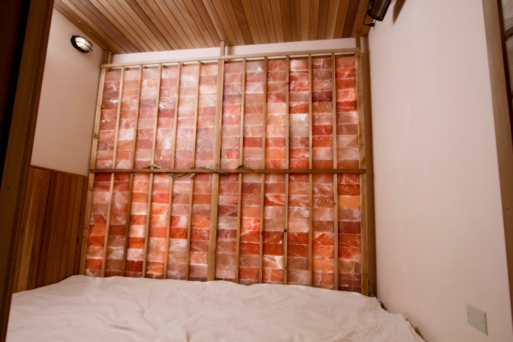 Pink Himalayan Salt Sauna 