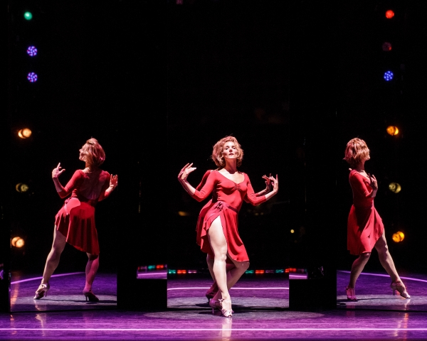 """Chryssie Whitehead, in her long time connection with """"A Chorus Line,"""" continues to shine. Photo Credit Mark Kitaoka"""