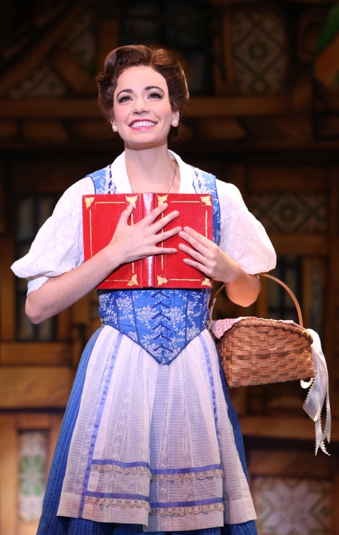 Hilary Maiberger as Belle. Photo by Joan Marcus.