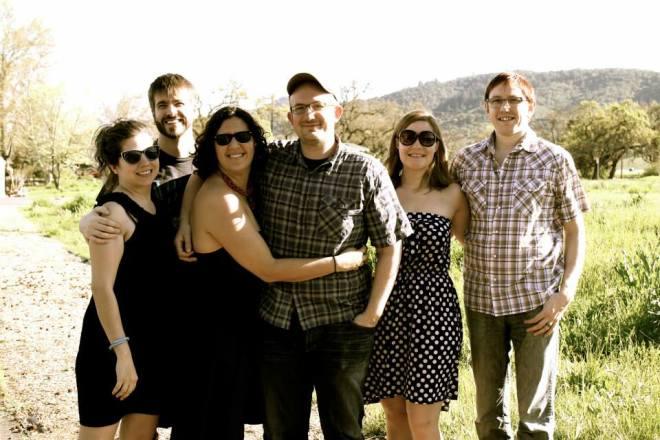 With Brandon, Morgan, Brian, Erin and Paul in Napa