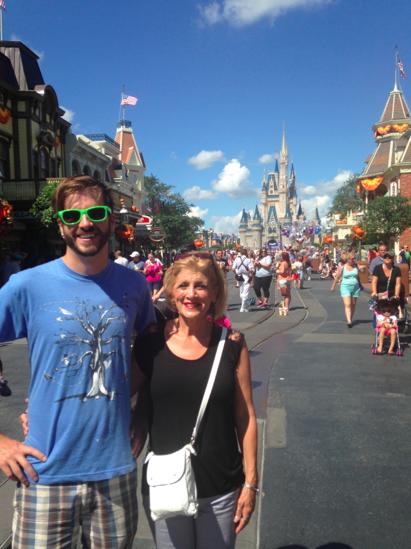 Brandon and his wonderful mom