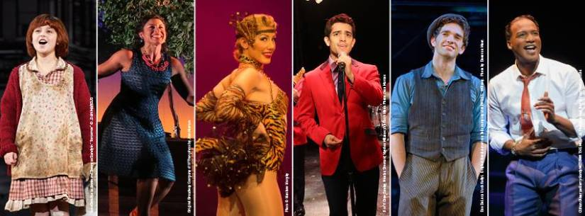 Broadway at the Paramount announces their 15/16 Season!